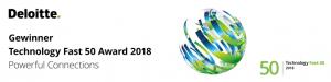 Fast 50 Award - Deloitte