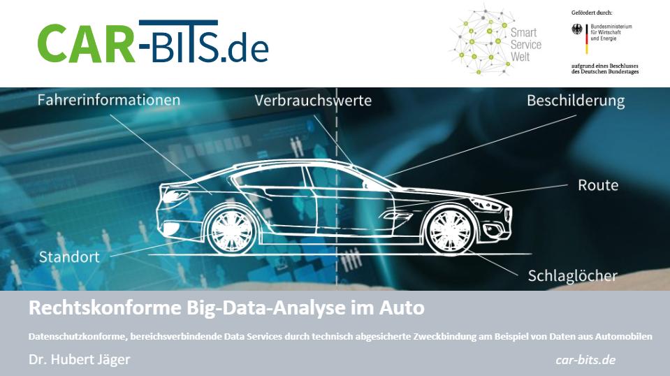 Vortrag Hubert Jäger - Rechtskonforme Bigdata-Analyse